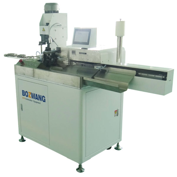 BZW-5.0+Z Automatic single end twisting, tinning and terminal crimping machine for 5 wires