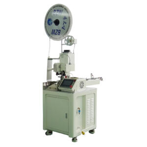 BZW-1.0 ull automatic single end terminal crimping machine. Wire processing machines.