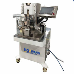 BZW-2.5T-FBD semi-automatic wire stripping, crimping and seal inserting machine