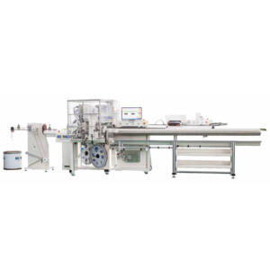BZW-3.0 C C PM 4M Automatic high precise seal insetring double ends terminal crimping machine with 4m conveyor