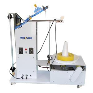 Podajnik przewodu na krążku lub przewodu w folli stretch BZW-PB przeznaczony jest do współpracy z maszynami do zaciskania terminali lub odizolowywania przewodów.