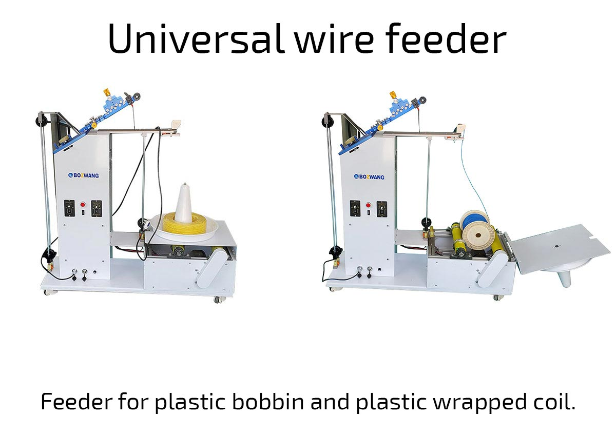 Universal cable or wire feeder